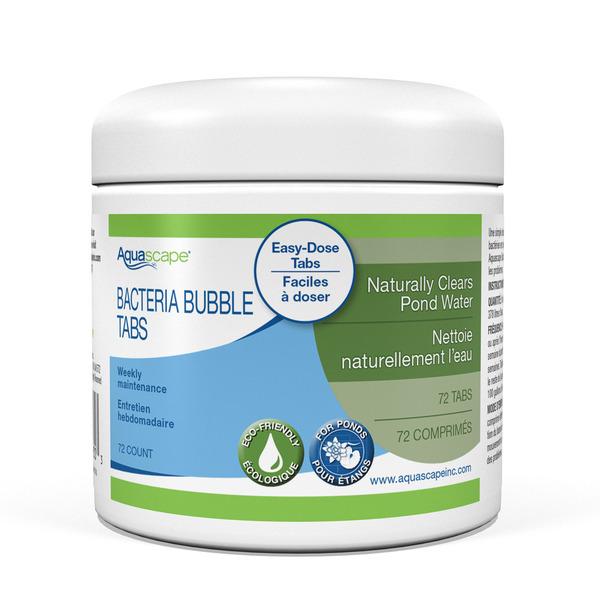 Aquascape Beneficial Bacteria Bubble Tabs 72 Count